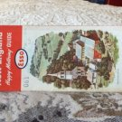 VINTAGE ROAD MAP New England State Esso 1964