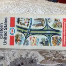 VINTAGE ROAD MAP Eastern United States Esso 1969