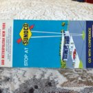 VINTAGE ROAD MAP New York State Sunoco 1969 Travel