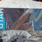 VINTAGE ROAD MAP Utah Highway Map State Road 1961