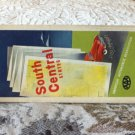 ANTIQUE ROAD MAP South Central United States AAA 1948