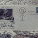 First Day Issue Cover Stamp Regular Postage 1958 25c