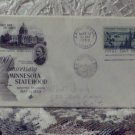 First Day Issue Cover Stamp Ann. Minnesota Statehood 1958 3c