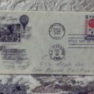 First Day Issue Cover Stamp 100th Ann First Airmail 1959