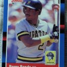 BARRY BONDS 1988 Donruss Baseball Trading Card No 326