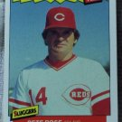 PETE ROSE 1986 Fleer Sluggers Baseball Trading Card No 29 of 44