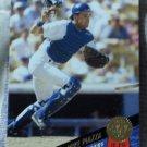 MIKE PIAZZA 1993 Leaf Baseball Trading Card No 35