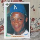 DARRYL STRAWBERRY Upper Deck 1991 Baseball Card 245