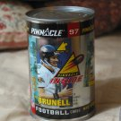 PINNACLE 1997 Football Card Can Mark Brunell Sports