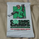 DC COMIC Book Cosmic Cards Pack Inaugural Edition 1991