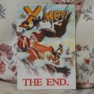 X-MEN The End New Comic Book Release Promo Business Card