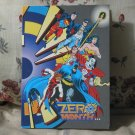 DC ZERO MONTH Comic Book Promo Folded Flyer Card 1994