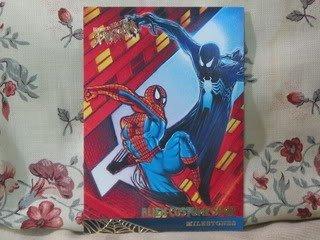 1995 Fleer Ultra Spiderman Single Card Alien Costume Saga 87