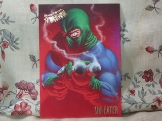 1995 Fleer Ultra Spiderman Single Card Sin Eater 52