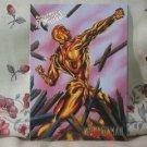 1995 Fleer Ultra Spiderman Single Card Molten Man 38
