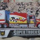 CAT SCALE Series 4 Truck Trading Card 53 Kenworth W900B