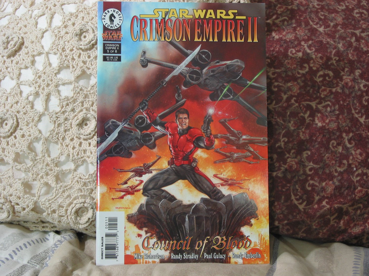 STAR WARS Council of Blood No. 5 of 6 1999 Comic Book