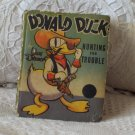 "WALT DISNEY'S 1938 ""Donald Duck"" Big Little Book Comic"