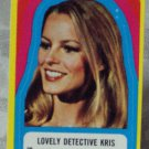 CHARLIES ANGELS 1977 Series 3 Sticker 26 Lovely Kris