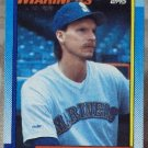 RANDY JOHNSON 1990 Topps Baseball Trading Card No 431