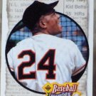 WILLIE MAYS Upper Deck 1992 Baseball Heros Baseball Subset Trading Card No 48