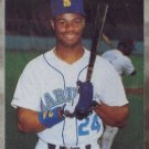 KEN GRIFFEY JR Mothers Cookies 1991 Baseball Trading Card No 1 of 4