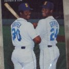 KEN GRIFFEY JR Mothers Cookies 1991 Baseball Trading Card No 4 of 4