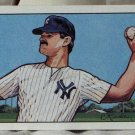 DON MATTINGLY 1990 Bowman Art Painted Baseball Trading Card