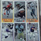 McDONALDS FLEER Gameday Uncut 1993 Football 1 Promo Sheet B 2 of 3 Dan Marino