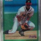 CHIPPER JONES Topps Chrome 1997 Baseball Trading Card No 97