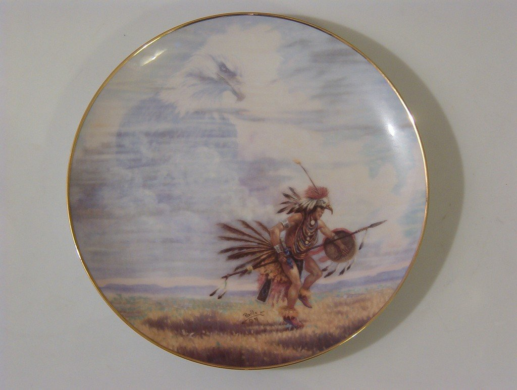 ARTAFFECTS Protector Of Nations Indian Plate 1993