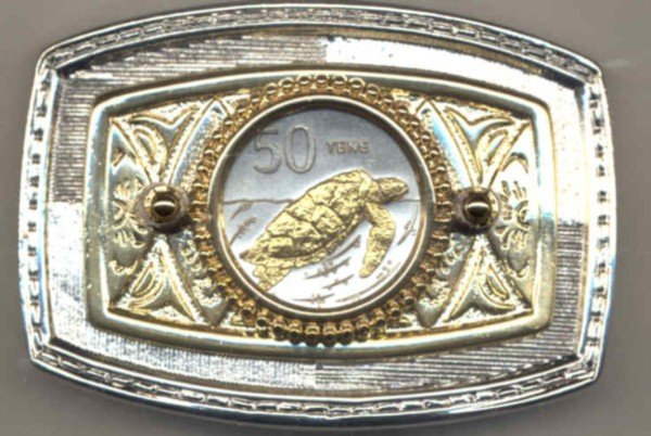 179-BB Belt Buckle-Cook Is. 50 Tene