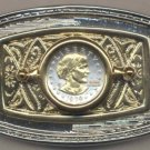74BB Belt Buckle - S.B. Anthony dollar (1979-1981 & 1999)