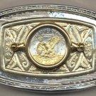 75BB Belt Buckle - S.B. Anthony dollar (reverse) (1979-1981 & 1999)