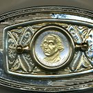 96BB Belt Buckle - New (2007) George Washington Dollar coin