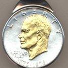 M70 Eisenhower bicentennial dollar (1976) Total size of clip 1-1/2