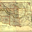1495 Antique Maps of the United States - Indian Territory Maps CD
