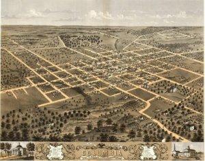 1496 Antique Maps of the United States - Missouri CD