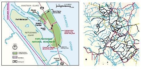 1142 U.S. National Parks Maps CD