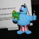 1993 Sesame Street Grolier Herry Monster Ornament