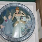 Walt Disney&#39;s Animated Classics Cinderella 3D Bas Relief Plate &quot;A Wonderful Dream Come True&quot;