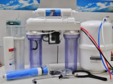 Oceanic Reverse Osmosis Drinking Water Filter System Permeate Pump Alkaline 75 G