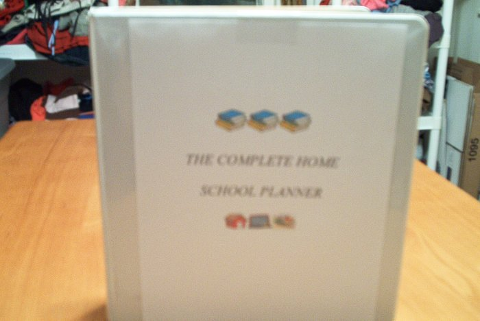 COMPLETE HOMESCHOOL PLANNER WITH CD
