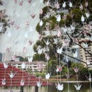ORIGAMI CRANES GARLANDS FOR WEDDING DECORATIONS SET OF 100 STRANDS