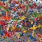 MULTICOLORED ORIGAMI CRANES GARLANDS FOR WEDDING DECORATIONS SET OF 100 STRANDS