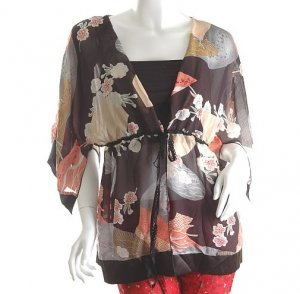 JAPANESE JAPAN FASHION CLOTHING KIMONO TRENDY CLOTHES Asian top s-l