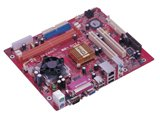 PC CHIPS V21G MOTHERBOARD W VIA C7 CPU