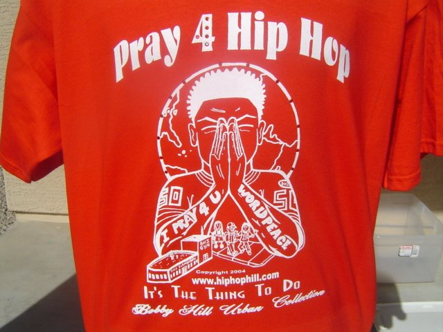 I Pray 4 Hip Hop T-Shirt