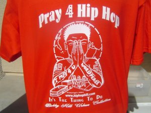 I Pray 4 Hip Hop T-Shirt