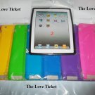 Silicone Case Skin Cover iPad 2nd 3rd 4th Gen Free matte screen protector